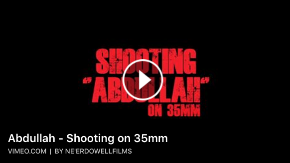 Abdullah – Shooting on 35mm